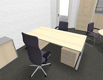 Büroplaner Umsetzung