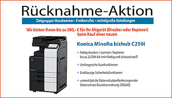 Sander Bürosysteme - Rücknahme-Aktion März 2021