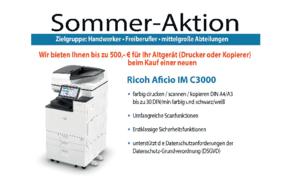Sander Bürosysteme - Rücknahme-Aktion August 2021