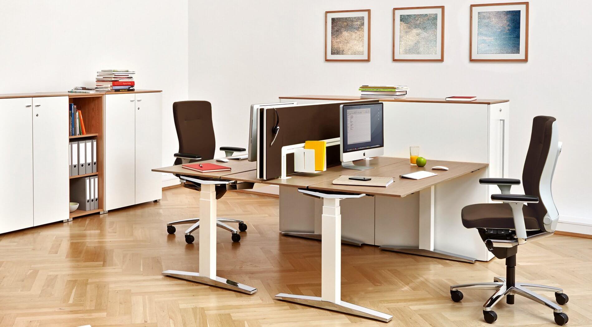 Ein Arbeitsplatz <br />zum Wohlfühlen Komplette Büroeinrichtung