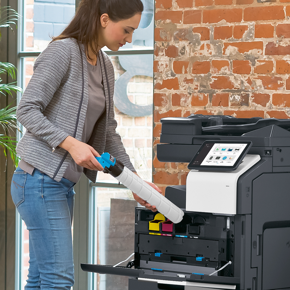 Sander Bürosysteme – Laserdrucker Tonerwechsel