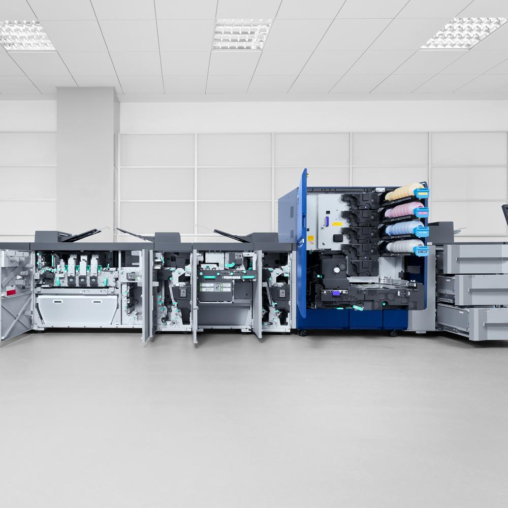 Sander Bürosysteme – Produktionsdrucker